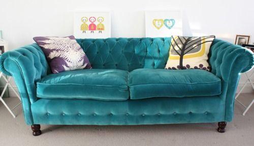 Sofa estofados veludo