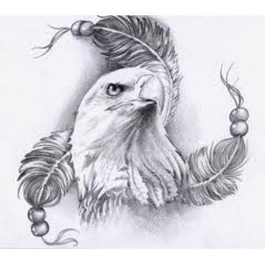 best 25 eagle feather tattoos ideas on pinterest native. Black Bedroom Furniture Sets. Home Design Ideas