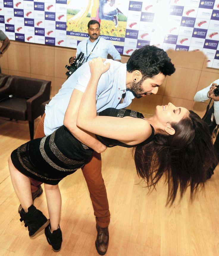 It takes two to tango! #VarunDhawan #AliaBhatt #instalike #follow4follow #Celebs #bollywood #HumptySharmaKiDulhaniya #Movies2014 #20likes To Follo Alia Bhatt download the FREE app of Follo, just give a miss-call on 07042127575