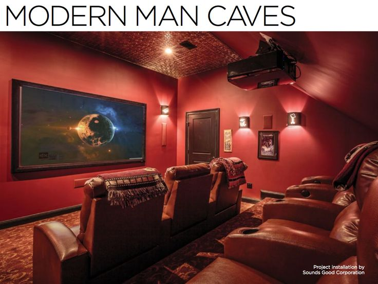 Modern Man Caves