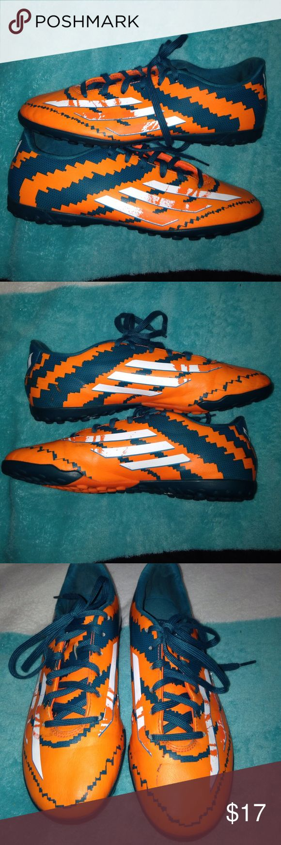 Adidas indoor shoes❤️ the paint came off as shown in the first picture 💙 adidas Shoes Athletic Shoes