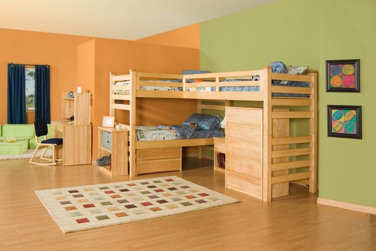 Indoor Tree House Playroom | The collection is from Everything Furniture .