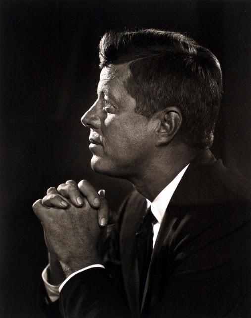 John F. Kennedy by Yousuf Karsh (December 23, 1908 – July 13, 2002)