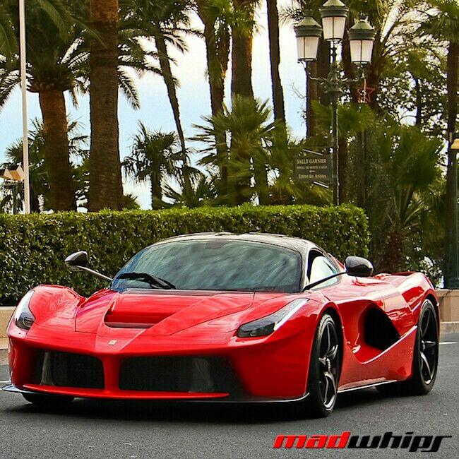 La Ferrari in Monaco