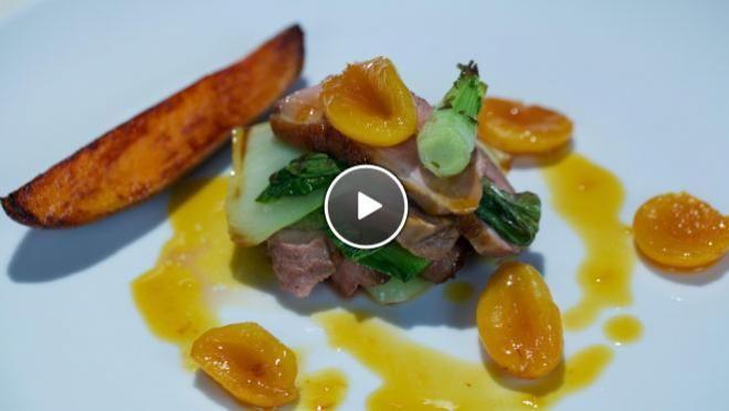 Tamme eend met sinaasappel-abrikozen - recept | 24Kitchen