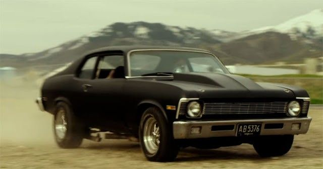 Mike Kendall John Hawkes Chevy Nova From Movie Small Town Crime