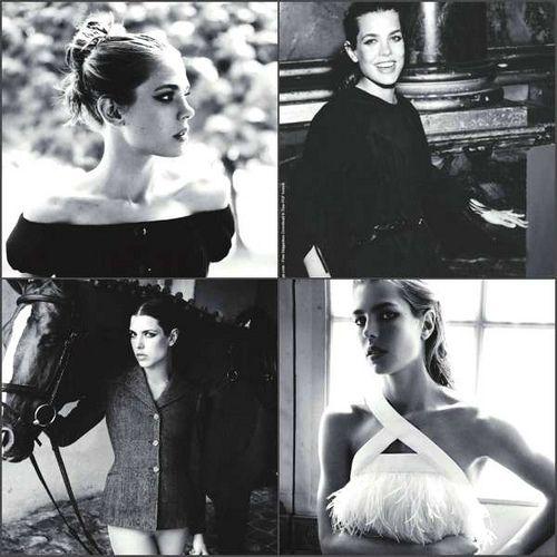 Princess Charlotte of Monaco in Paris Vogue