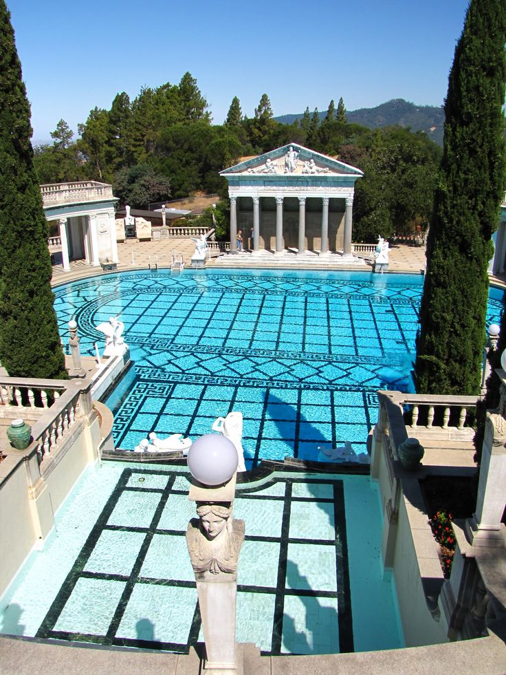 17 best images about hearst castle on pinterest gardens for Castle gardens pool