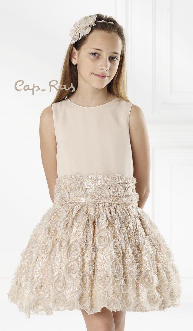 Cap Ras Barcelona. Vestidos ceremonia, vestidos comunion, vestidos arras, vestidos fiesta. Flower girl and special occasion dresses.