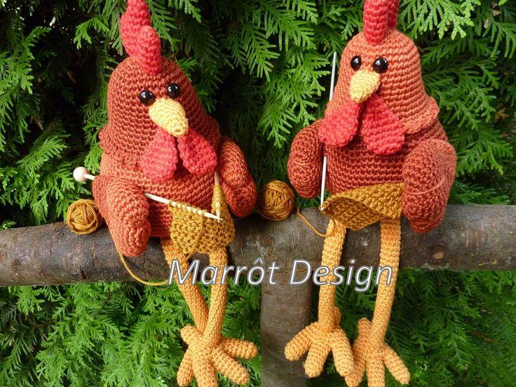 Marrot Design - Kippen Fien en Pien