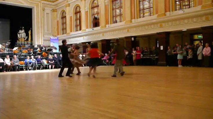 Video of Satan Takes a Holiday Swing Dancing at Lord Mayors Tea Party. Video by Justine Mc Cormack
