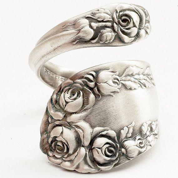 Silver Spoon Ring. Amaze