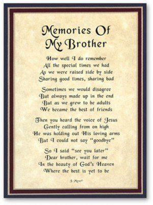 Sympathy Quotes For Loss Of Brother Funeral Brother Quotes