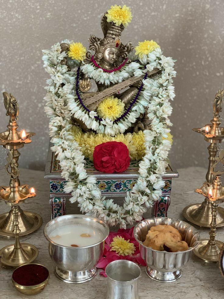 Indian Deity Goddess Decor Temple Decor Pooja Room Design