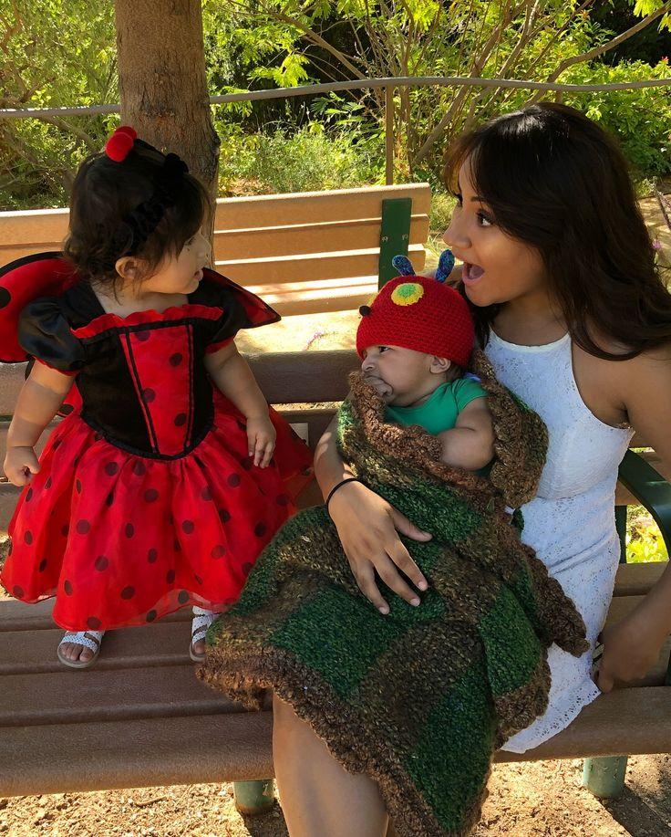 Hungry caterpillar meets the lovely lady bug Great gatsby toddler/baby shoot. #ladybug #baby #babygirl #babyboy #dressup #leonardo #kids #fashion #hungrycaterillar #crochet #costume #momlife #emma