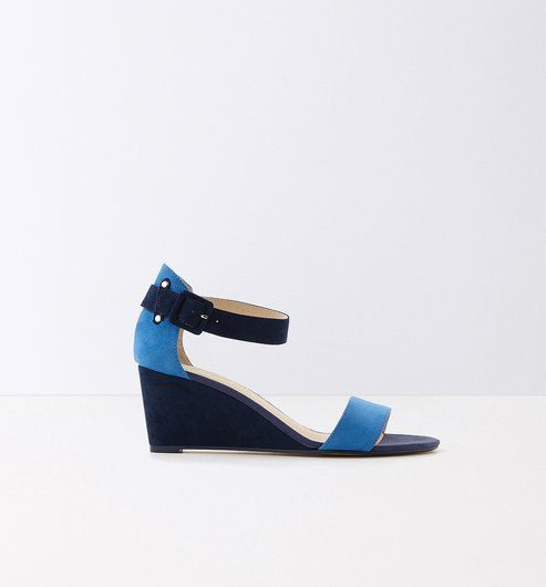 Sandalen+mit+Keilabsatz