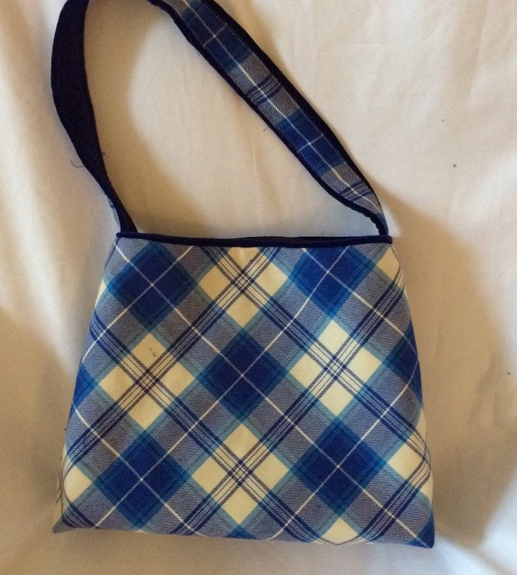 A personal favourite from my Etsy shop https://www.etsy.com/uk/listing/256497558/blue-menzies-tartan-shoulder-bags