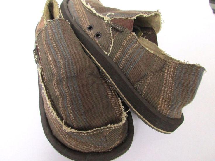 Sanuk men shoes size 10 #Sanuk #LoafersSlipOns