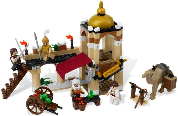 LEGO Prince of Persia The Sands of Time 7571: The Fight for the Dagger. Released 2010