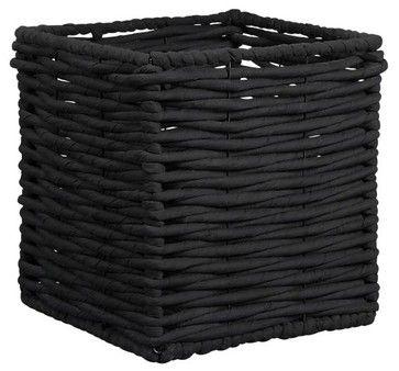 Hampton Black Basket asian baskets