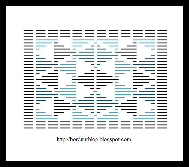 Kogin Stitch pattern