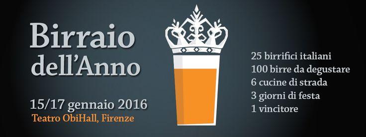 E' uno degli eventi legati al mondo della birra più importanti in Italia, ma è soprattutto un'ottima occasione per poter degustare circa cento etichette provenienti da venti microbirrifici made in Italy! Ideato e organizzato da Fermento Birra con la sponsorizzazione di VDGlass, l'evento Birraio dell'Anno 2015 è come ogni anno pronto per decretare il miglior artigiano della birra italiana e ovviamente a... #birreartigianali #birra #beer #brassicolo #craftbeer