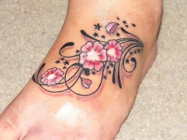 Un tatuaggio allegro
