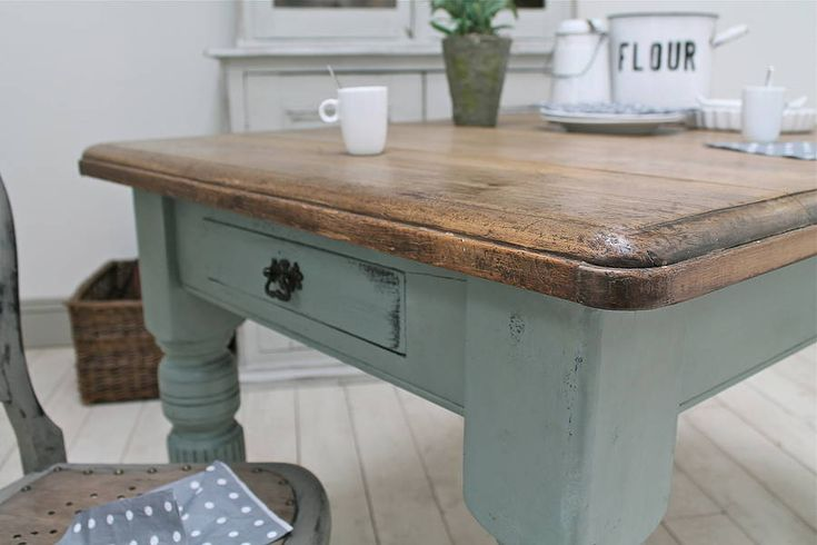 Farmhouse Kitchen Table Paint Color