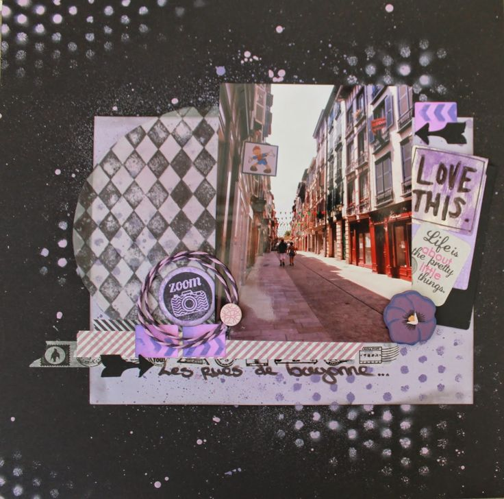 crea2moa: Scrapbooking Page : Love This