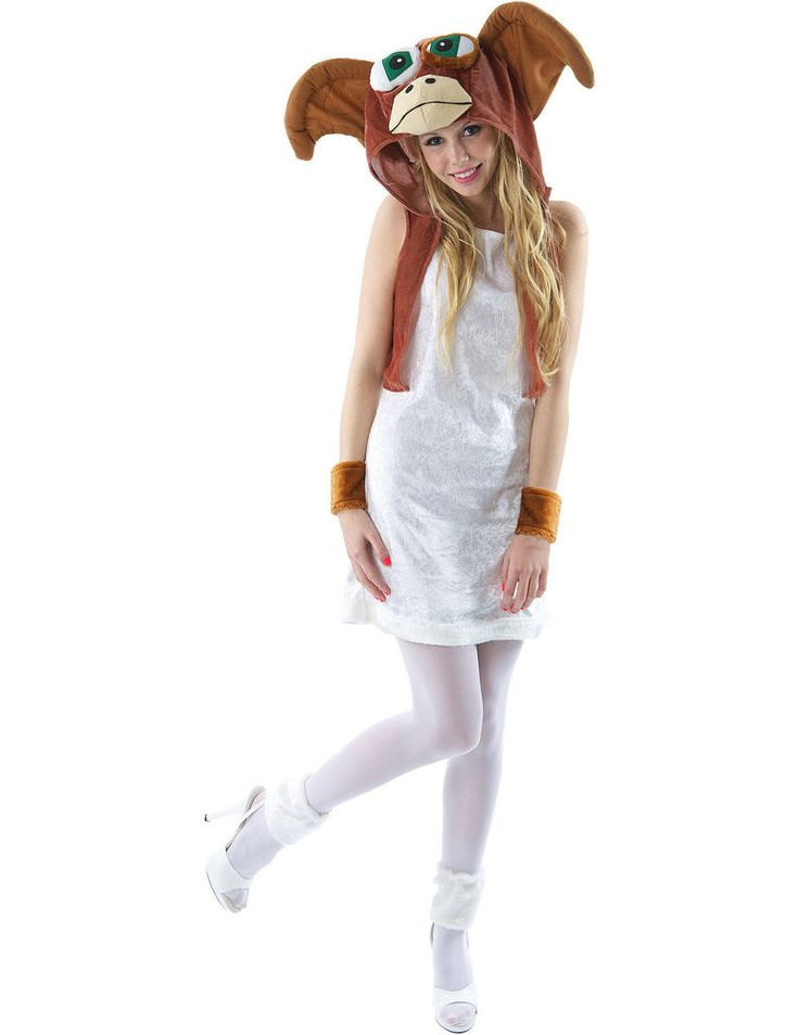Adult Mischievous Creature Costume is a fun and cute fancy dress costume that's perfect for creating a bold look that will ensure you get plenty of attention with this fabulous outfit. TheAdult Mischievous Creature Costume includes a stretchy white dress in crushed velvet with a white furry hem. | eBay!