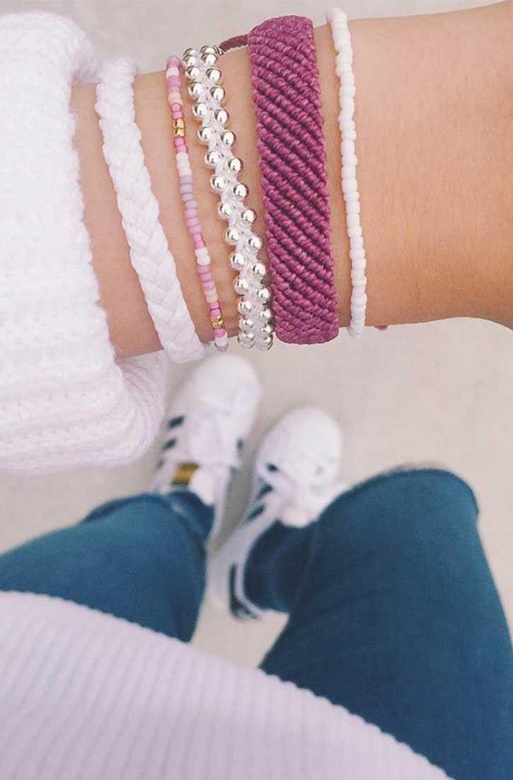 Perfect Pink Hues   Pura Vida Bracelets