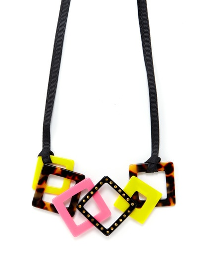 Neon necklace!: Neon Necklace, Cluster Necklace