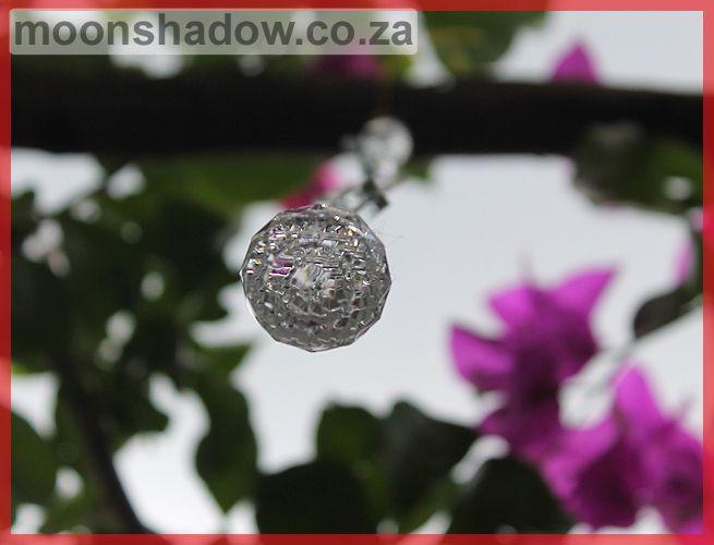 Suncatchers add beautiful sparkle to the garden.   #Moonshadow #Swellendam #SouthAfrica