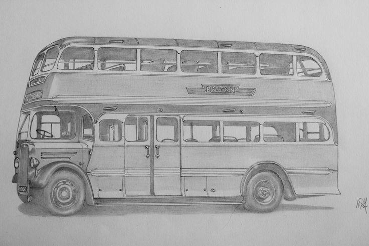 Barton Transport 575 - 1948 Duple bodied Leyland Titan PD1