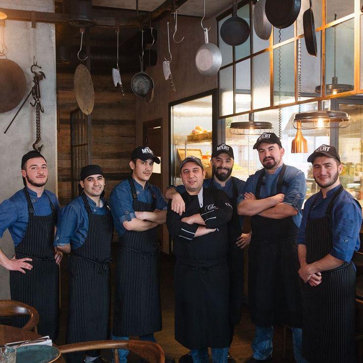 Fantastic staff of M'EAT #meat #meatbybeat #meatrestaurant #steakhouse #steaks #azerbaijan #baku #restaurants #food #cuisine #beef #veal #staff