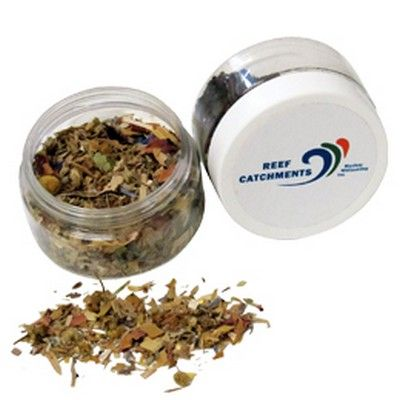 Large Herbal Tea Jar Min 150 - Personal Care - PRTH-TEA0111-c - Best Value Promotional items including Promotional Merchandise, Printed T shirts, Promotional Mugs, Promotional Clothing and Corporate Gifts from PROMOSXCHAGE - Melbourne, Sydney, Brisbane - Call 1800 PROMOS (776 667)