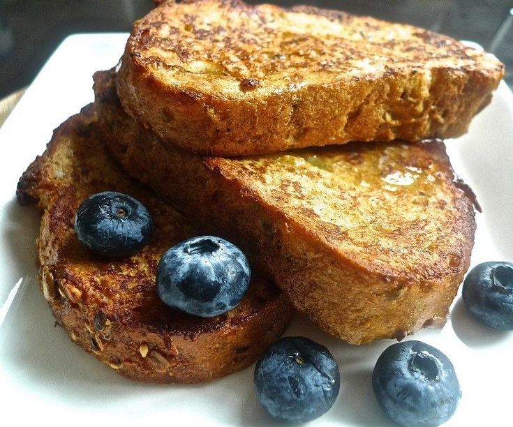 French toast, also known as eggy bread or gypsy toast is a dish of bread soaked in beaten egg batter, then fried and baked. As it is mostly bread, the kind of bread you use is important. Pick your favourite bread – White, Italian, French or Whole Wheat. Challah or egg bread will give incredibly creamy insides. Country- style breads are great too, and will give a sturdier, less creamy French toast. Classic French baguette sliced diagonally make a nice, chewy version. Do avoid using whit...