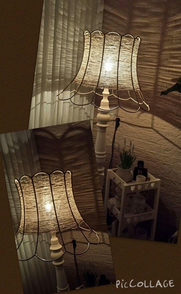 Lampenkap pimpen met touw