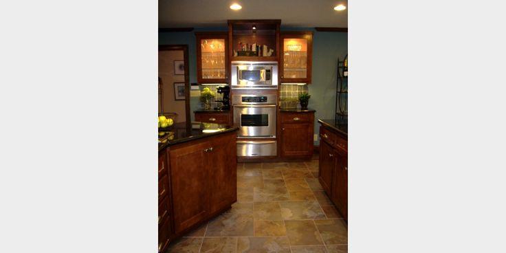 pictures of craftsman styule kitchen   Craftsman Kitchen - Kowalske Kitchen & Bath   WALL OVENS AND WARMING DRAWER