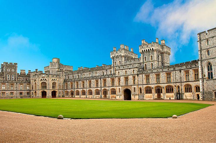 Slottet Windsor i England #windsor #castle #windsorcastle #england #slott