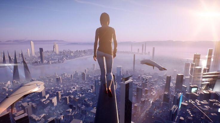 Designing the futuristic City of Glass for Mirror's Edge Catalyst