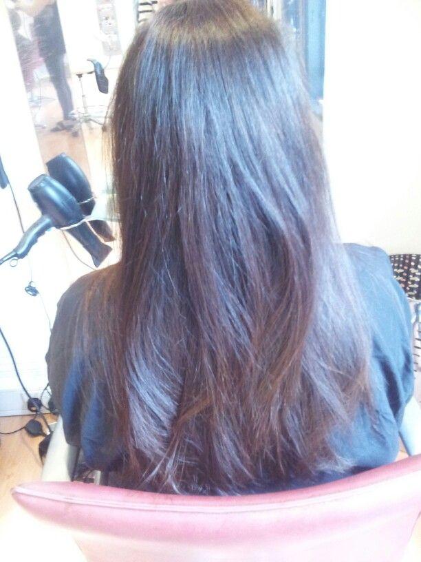 Haircut adding layers
