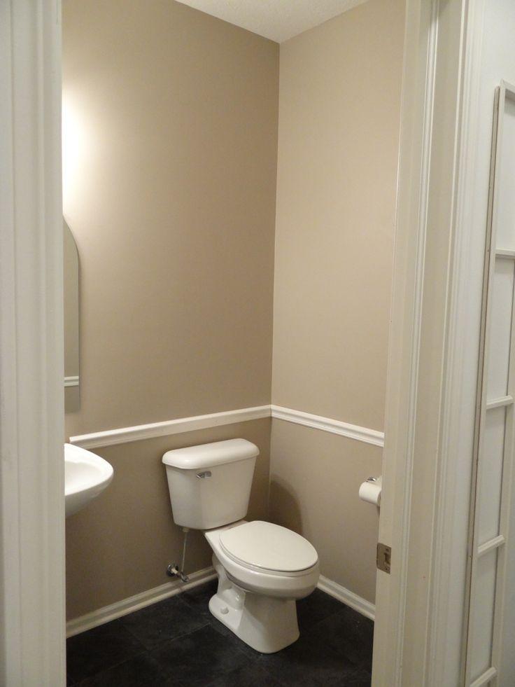 Bathroom With Chair Rail Bathroom Ideas Pinterest