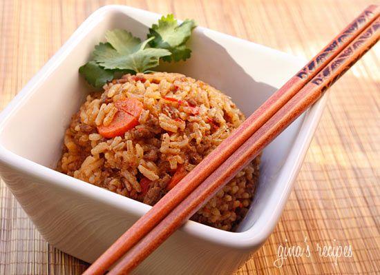 Spicy Thai Beef and Jasmine Rice | Skinnytaste