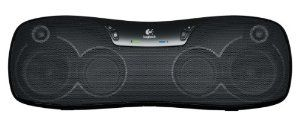 Logitech Bluetooth Wireless Speaker by Logitech. $127.00. Features                           Wireless Boombox  Noteworthy Features                  •   Wireless audio streaming from your tablet or smartphone                  •   Bluetooth connection with 33 ft. wireless range                  •   Six-hour rechargeable battery for music listening on the go**                  •   Eight custom-tuned drivers for high-fidelity sound                  •   Portabl...