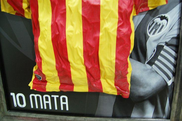 Detalle Camiseta de Juan Mata | Irrepetibles