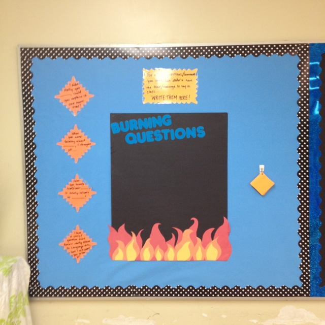 Bulletin Board Ideas For Questions