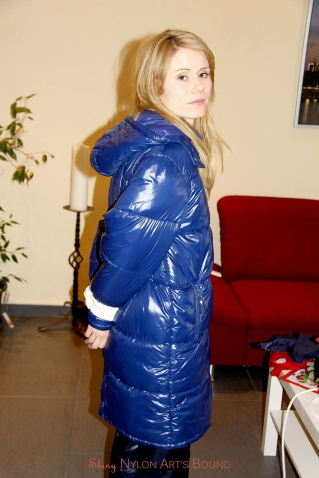 Your phrase Sexy blond puffy coat