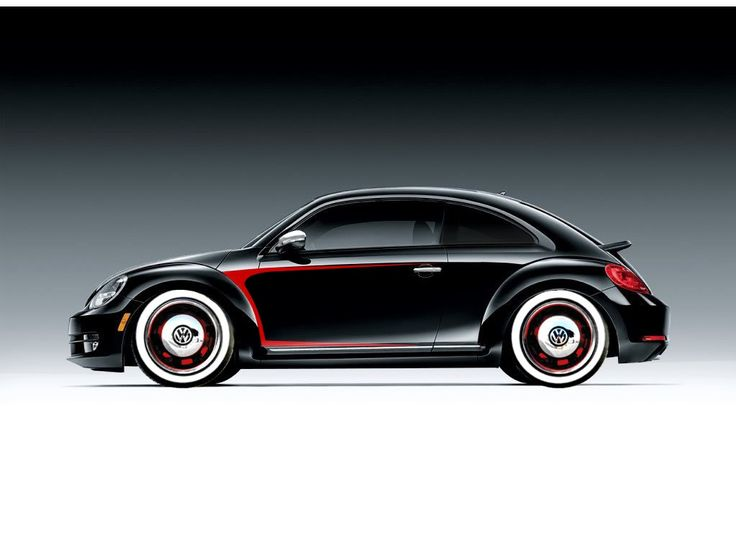 Sharp paint on a new Beetle