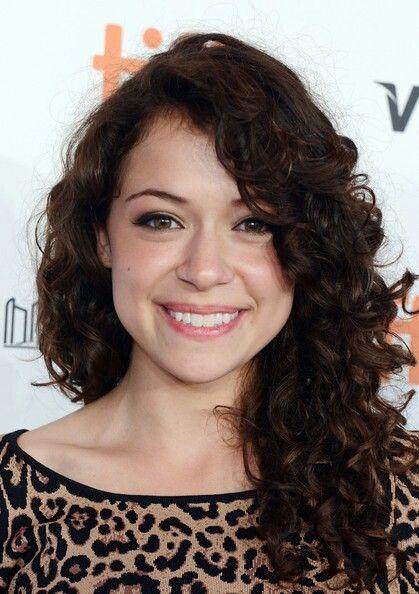 Tatiana Maslany - I love her curly hair